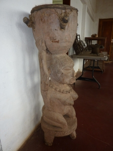 Female Figure Drum