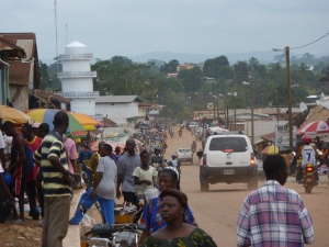 Gbarnga Top of Hill