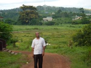 Me in Liberia