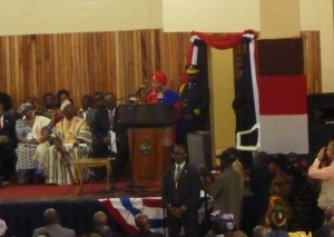 Sirleaf Speaking